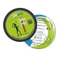 DOUBLE SIDED GLOSS COASTER - from 15p